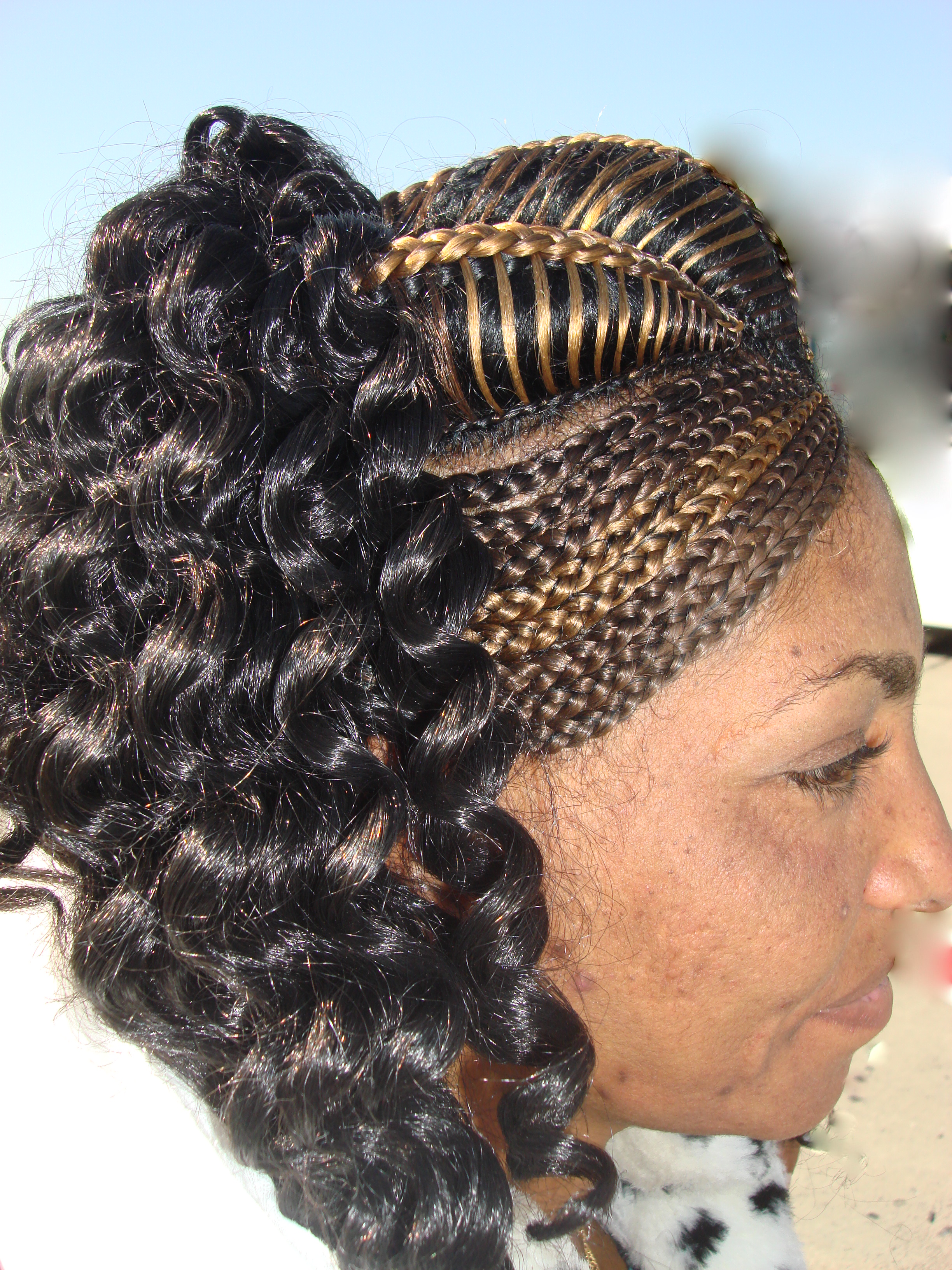 Hair Styles Carolyns Travel Stories - Ethiopian new hairstyle