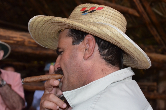 Benito and his Cuban Cigar