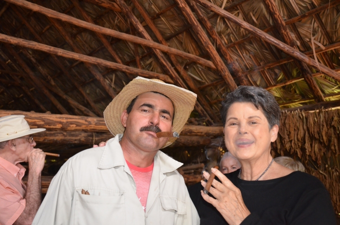 Ah, the taste of a world famous Cuban cigar, another dream come true.