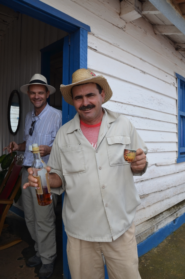 The Best Cuban rum with Cuban coffee, what a treat.