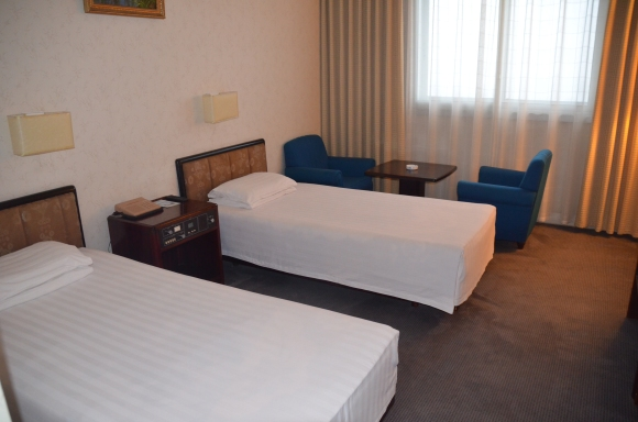 Our Pyongyang hotel room