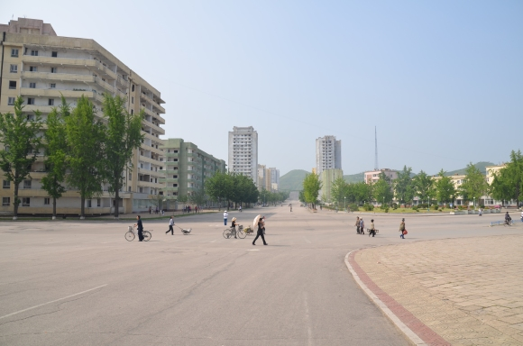 The streets of Kaesong
