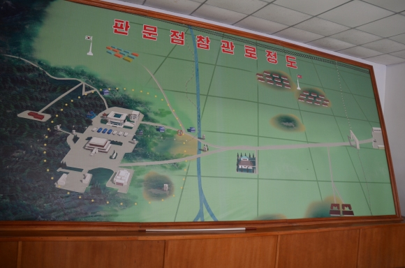 Map of the DMZ