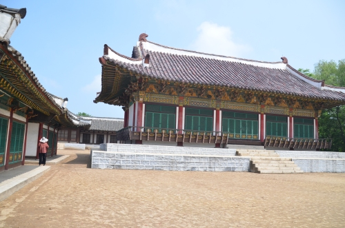 Ancient Korea movie set