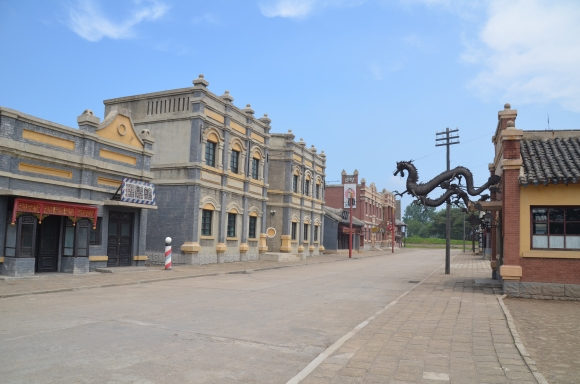 Chinese movie set
