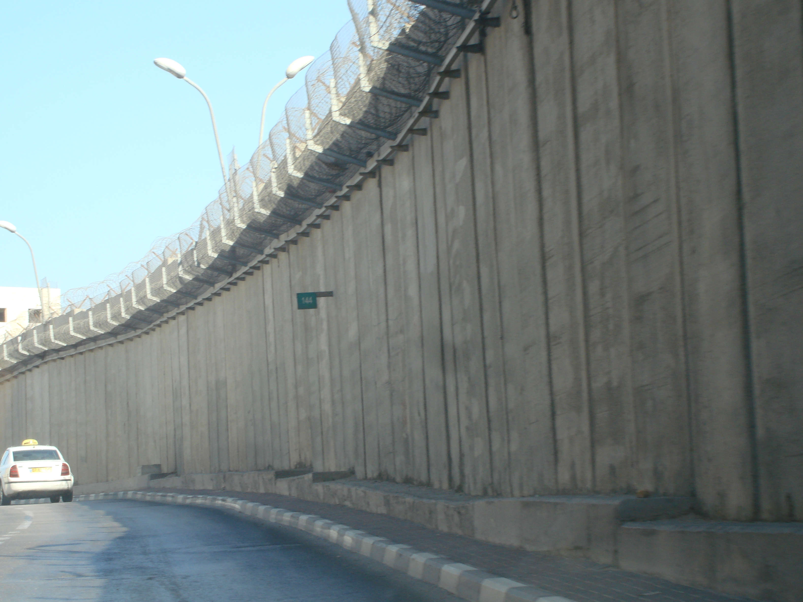 Israel-Palestine Wall | Carolyn's Travel Stories